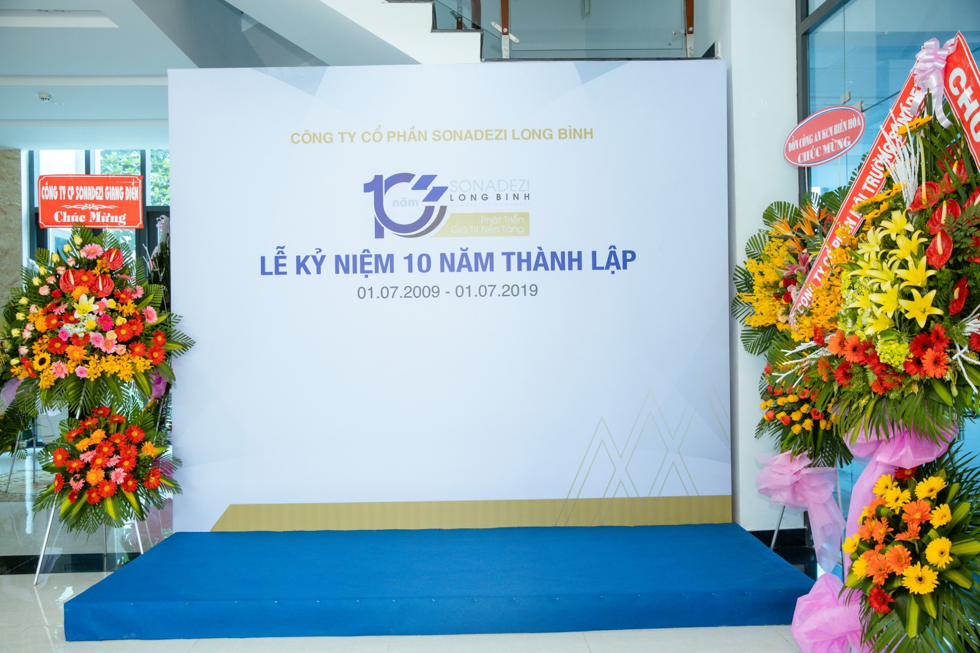 Ceremony 10 years of Sonadezi Long Binh