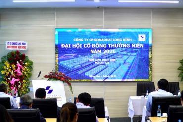 Sonadezi Long Binh sets the revenue target of 2021 to reach 379.5 billion VND