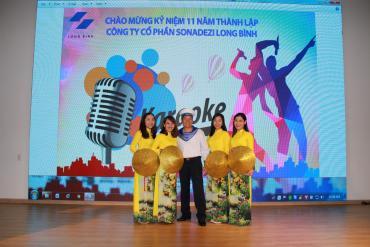 Sonadezi Long Bình kỷ niệm 11 năm thành lập
